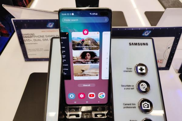 Samsung Galaxy S10+, fotografii hands-on