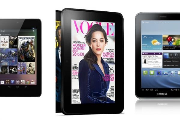 Kindle Fire HD vs concurența: Google Nexus 7, Samsung Galaxy Tab 2 7.0