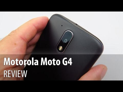 Motorola Moto G4 Video Review