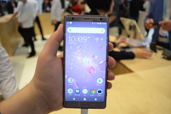 Sony Xperia XZ2 - Fotografii Hands-On de la evenimente