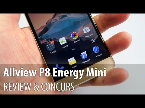 Allview P8 Energy Mini Review & Concurs (Battery Phone Midrange)