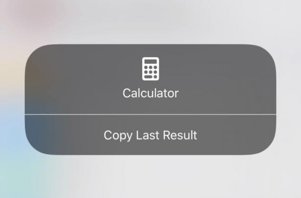 Galerie foto capturi de ecran iOS 11 (screenshots): ios_11_control_center_3d_touch_calculator (1).jpg
