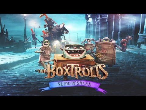The Boxtrolls Slide 'N' Sneak Review prezentat pe UTOK Fury [Android, iOS] - Mobilissimo.ro