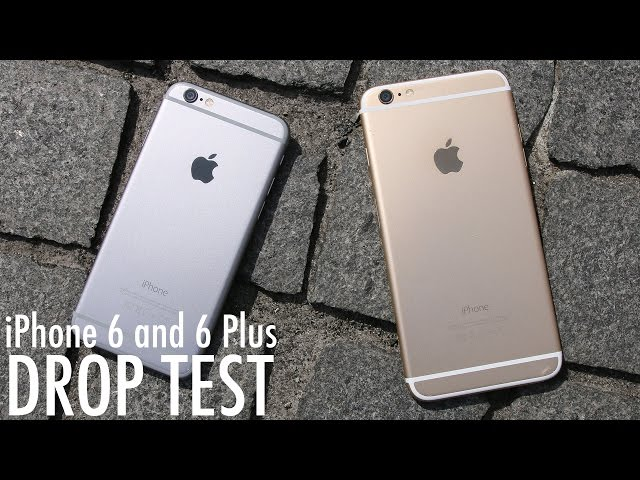 iPhone 6 Plus - Drop test