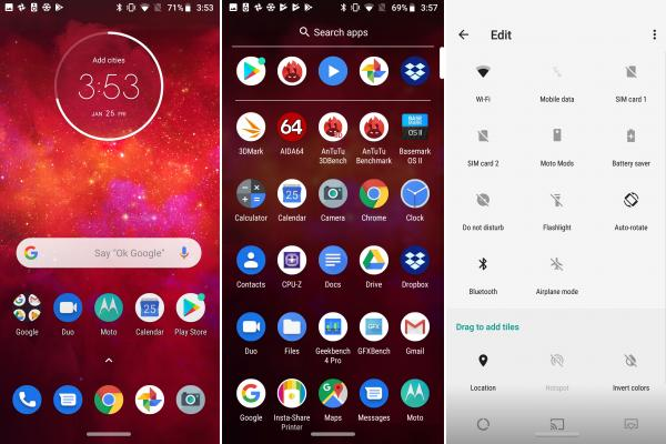Motorola Moto Z3 Play - Screenshots