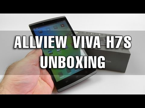 Allview Viva H7S Unboxing + Concurs (Tabletă 3G cu GPS) - Mobilissimo.ro