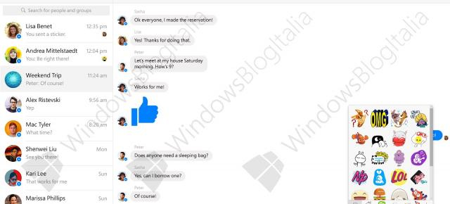 Facebook Messenger în varianta beta pentru Windows 10 primeşte un preview (Video)