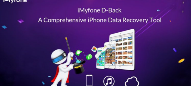 iMyFone D-Back este un program ce promite recuperarea datelor de pe iPhone în orice situație; disponibil pe Mac și Windows