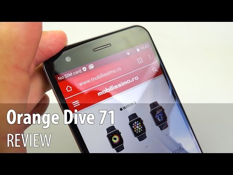 Orange Dive 71 Video Review în Limba Română