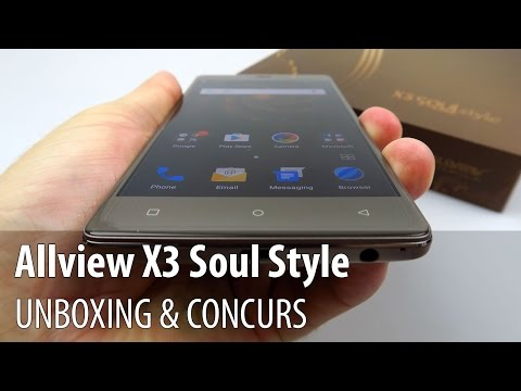 Allview X3 Soul Style Video Unboxing