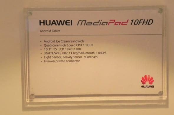 MWC 2012: Huawei MediaPad 10 FHD preview hands on - tableta quad core de 10 inch cu procesor Huawei (Video): dscn0867jpg.jpg