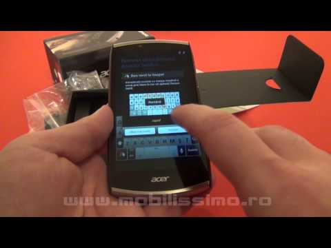 Acer CloudMobile S500 unboxing - Mobilissimo.ro