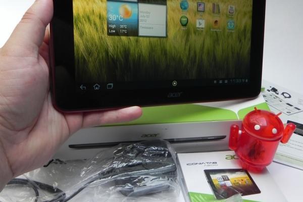 Acer Iconia Tab A200 - Unboxing