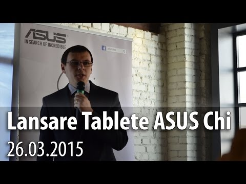 Lansare ASUS Transformer Book Chi România (ASUS Transformer Book T100 Chi Hands-on) - Mobilissimo.ro