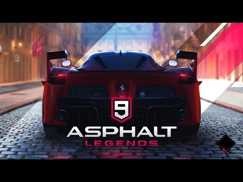 Asphalt 9 Legends, jucat pe Apple iPad 9.7 2018 (Gameplay iOS/ Tabletă)