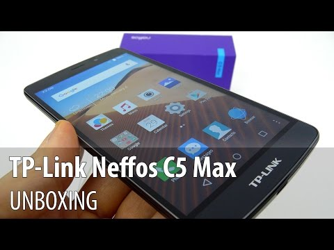 TP-Link Neffos C5 Max Video Unboxing