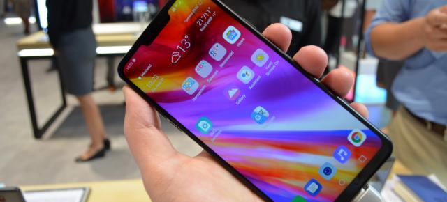 IFA 2018: LG G7 Fit hands-on - Familiar şi mare, ecranul HDR Dolby Vision e vedeta (Video)