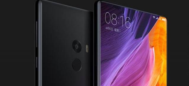 Xiaomi Mi MIX este un phablet spectaculos cu display edge-to-edge de 6.4 inch; beneficiem de un screen-to-body ratio incredibil de 91.3%