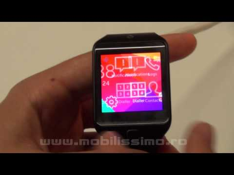Samsung Gear 2 Neo Hands-On Video Preview MWC 2014 - Mobilissimo.ro