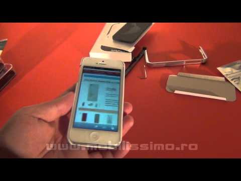 Review Carcase iPhone 5 Cubz, Bumper si Flip Cover - Mobilissimo.ro