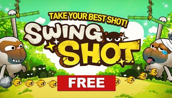 Swing Shot review: un joc simpatic cu maimuțe pentru Android (Video)