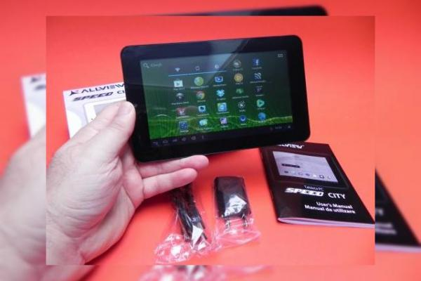 Allview Speed City unboxing: tableta dual core Jelly Bean la 499 lei suna bine! (Video)