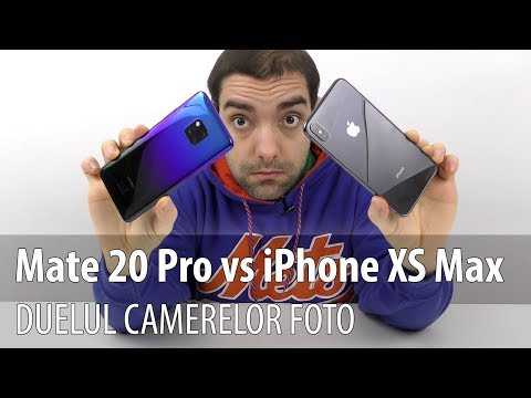 iPhone XS Max versus Huawei Mate 20 Pro, duelul camerelor foto (Comparație Video)