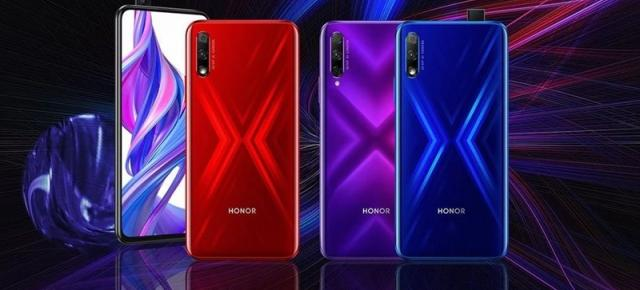 Honor 9X devine oficial; Are o cameră pop up selfie şi procesor Kirin 810