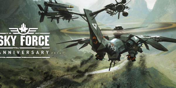 Sky Force 2014 Review (Allview Viva Q10 Pro): un shoot 'em cu grad înalt de dificultate şi gameplay old school (Video)