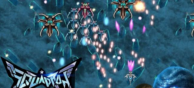 Squadron Bullet Hell Review (Philips Xenium i908): un shooter vertical cu nave spaţiale ca pe vremuri (Video)