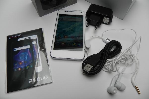Allview P4 Duo - Unboxing