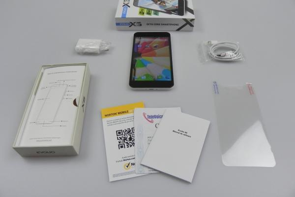 Evolio X6 Octa Core - Unboxing