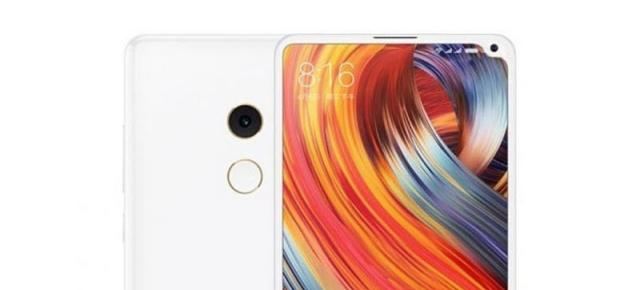 Xiaomi Mi Mix 2s apare într-o randare fan-made cu un ecran edge to edge atipic