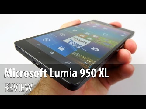 Microsoft Lumia 950 XL cu Windows 10 Mobile Anniversary Update Video Review în Limba Română