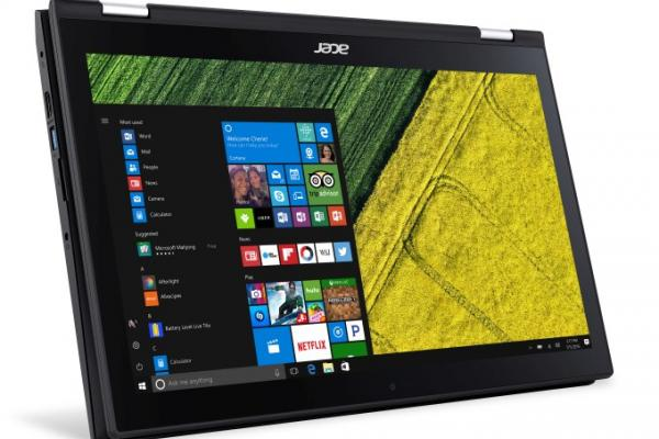 Acer Spin 3, imagini oficiale