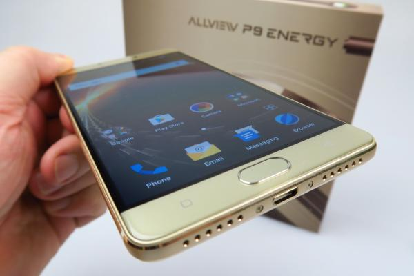 Allview P9 Energy Unboxing: battery phone-ul revine în actualitate, acum cu unele dotări high-end (Video)