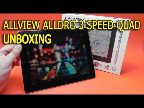 Allview Alldro 3 Speed Quad Unboxing in limba romana - Mobilissimo.ro