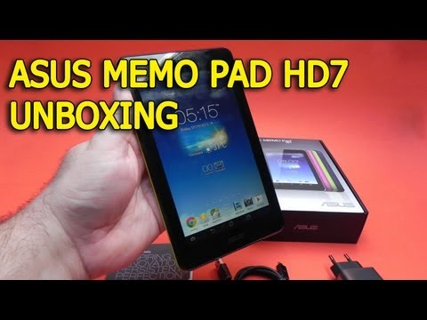 Asus Memo Pad HD 7 unboxing - Mobilissimo.ro