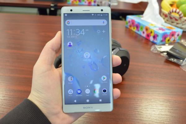Sony Xperia XZ2 - Fotografii hands-on eveniment Sony