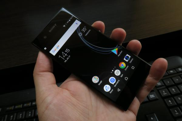 Sony Xperia XA1 - Fotografii Hands-On