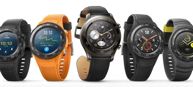 Noul smartwatch Huawei (Watch 3?) va sosi cu căști Bluetooth integrate