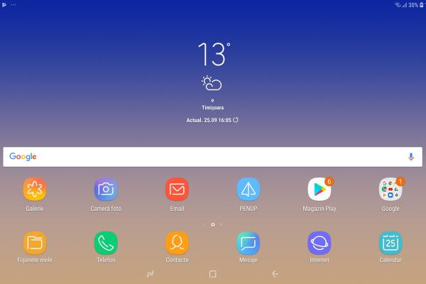 Samsung Galaxy Tab S4 - Screenshots