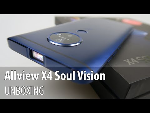 Allview X4 Soul Vision Video Unboxing