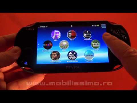 Sony PS Vita video review Full HD in limba romana - Mobilissimo TV