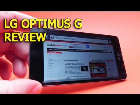 LG Optimus G Review Full HD in Limba Romana - Mobilissimo.ro