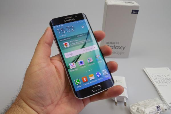 Samsung Galaxy S6 Edge - Unboxing