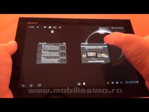 Sony Xperia tablet S review Full HD in limba romana - Mobilissimo.ro