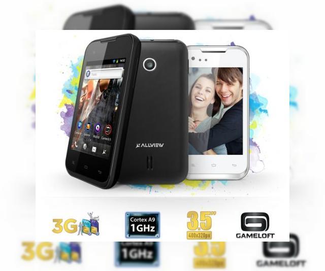 Allview A4All - detalii oficiale legate de cel mai accesibil smartphone Android