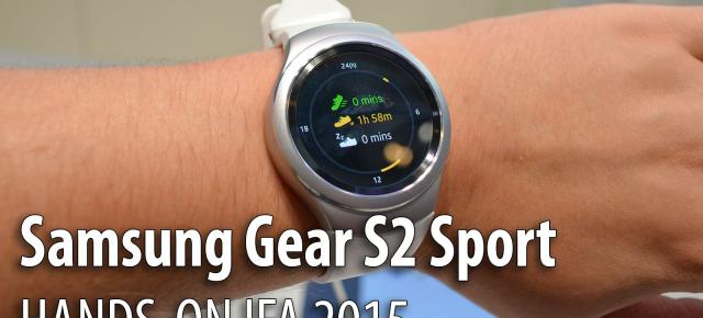 IFA 2015: Samsung Gear S2 Classic hands-on - controlul analogic întâlneşte epoca digitală (Video)