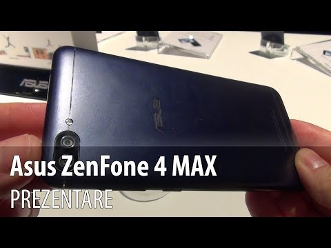 Asus Zenfone 4 Max (ZC520KL) Prezentare video Hands-on (Battery Phone de 4.100 mAh)